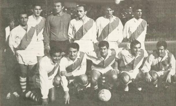 FOTO: El equipo subcampeón de la Libertadores 1966.