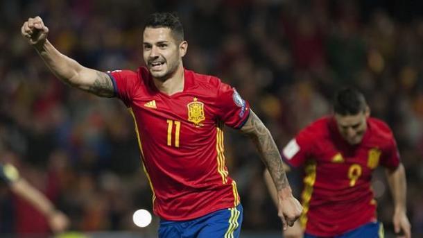 Vitolo ed Aduriz, entrambi in gol contro la Macedonia | Eurosport.com