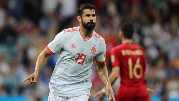 Diego Costa marcó un doblete | Foto: Getty Images.