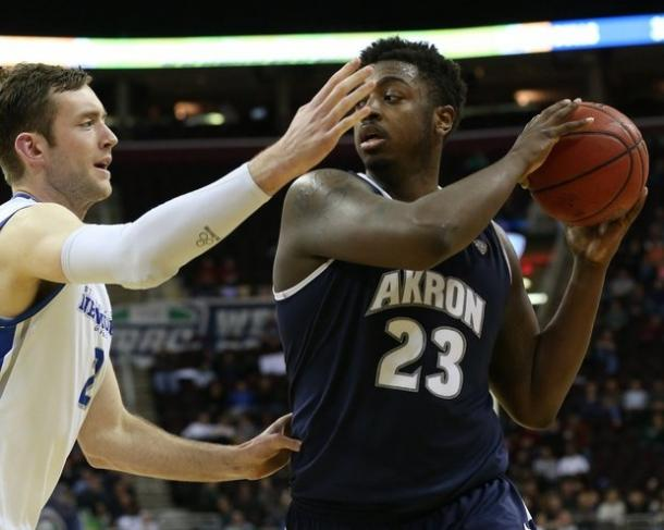 Johnson leads a terrific Akron squad/Photo: Cleveland Plain Dealer