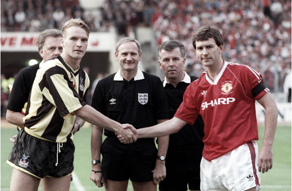United met Crystal Palace in the 1990 FA Cup final, and could do again this year (Photo: Bob Thomas / Getty Images)