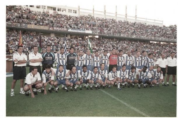 Plantilla 1998/99 | Foto: Málaga CF