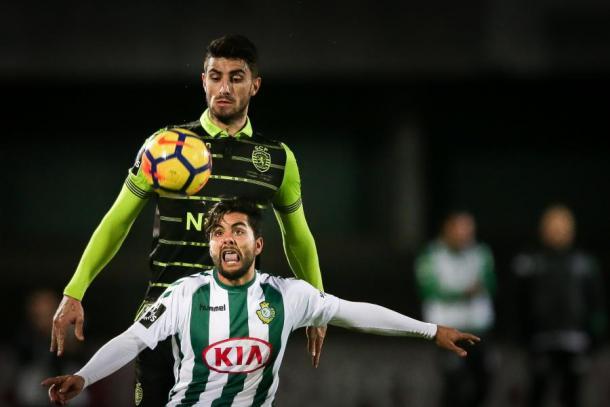 La primera mitad tuvo un solo dueño, el Sporting | Foto: Sporting CP