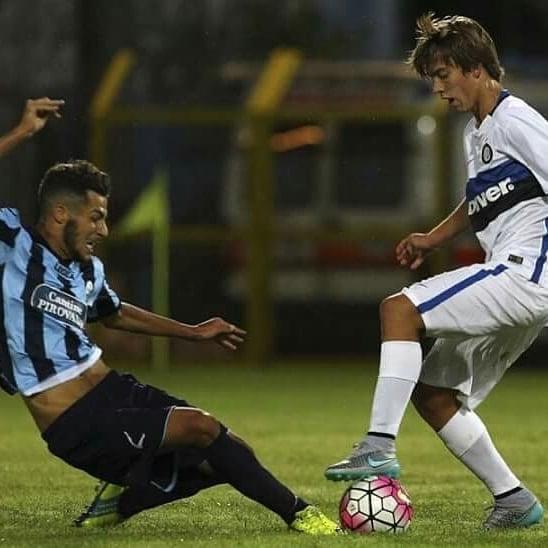 Paulino de la Fuente, durante su etapa en el Inter de Milán | Fuente: @paulinoo10 (Instagram)
