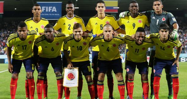 Titulares selección Colombia frente a Turquía I Foto: FIFA