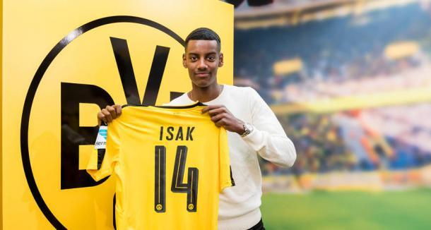 Aleksandar Isak. Fuente: BVB.de