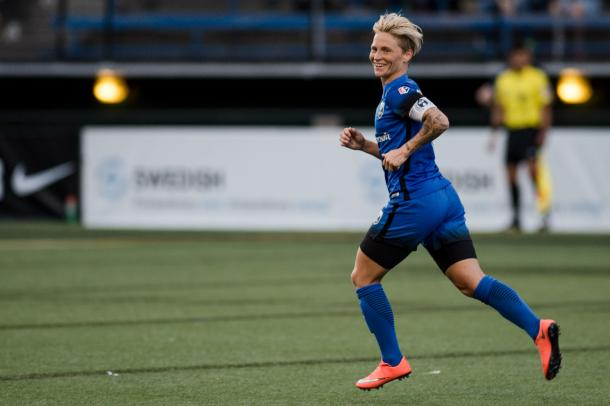 Jess Fishlock has been an integral part of the Reign since joining the team in 2013 | Source: thebold.com