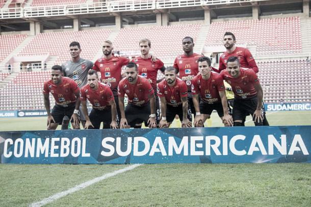 Foto Enmanuel García (Caracas FC)
