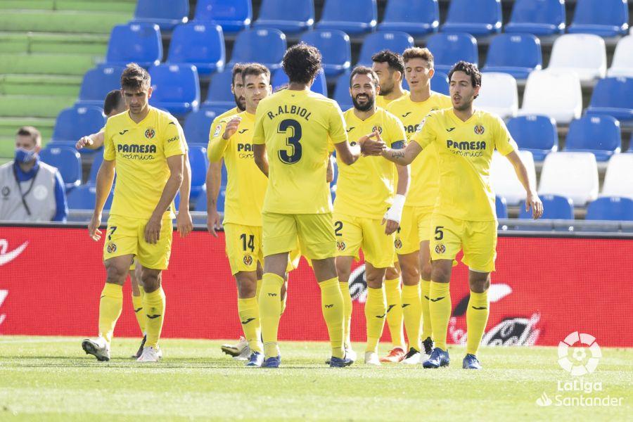 El Villarreal ganó al Getafe (1-3) a domicilio | Foto: LaLiga.es