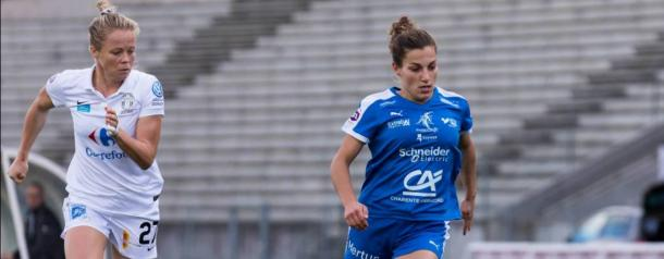 Soayux will look to Laura Bourgouin amongst others to help their cause | Source: coeursdefoot.fr