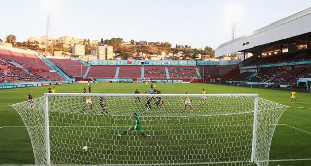 Jherson Córdoba empató el juego ante Australia I Foto: FIFA