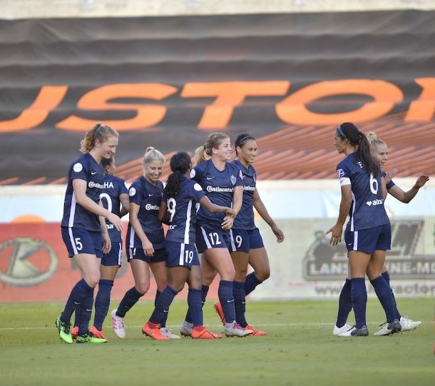 Leah Pruitt scored for the Courage in the 76th minute. Photo: www.twitter.com/thenccourage