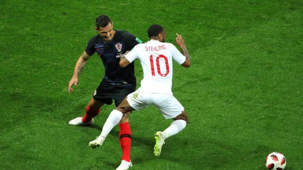 Sterling fue un dolor de cabeza para la defensa croata | Foto: FIFA.com