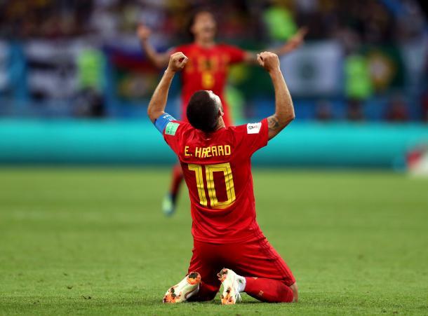 Eden Hazard, una de las figuras del Mundial | Foto: FIFA.com