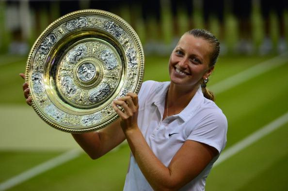 Kvitova, 2014 Wimbledon ladies' singles winner. Photo: Carl Court