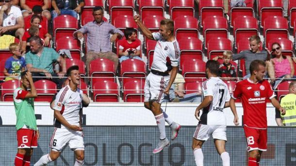 Hinterseer celebra su gol ante el Mainz 05 | Foto: BILD