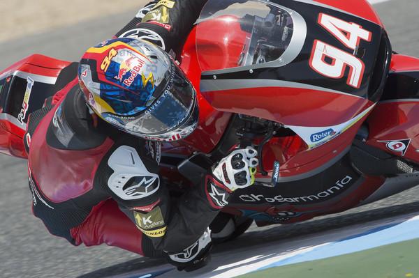 Folger en los test del circuito de Jerez