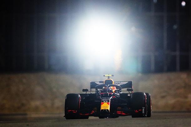 Alexander Albon no cumple y cae Q2. Fuente: Honda Racing