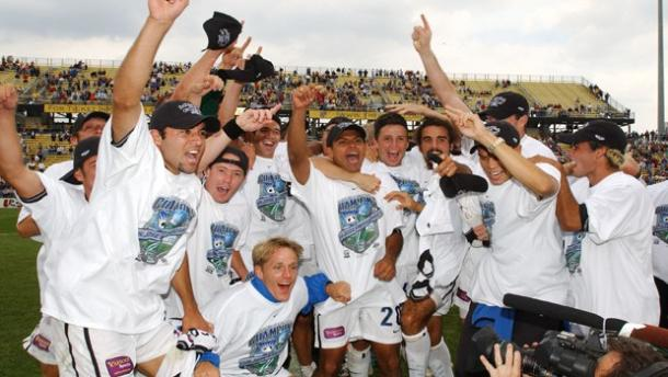 San Jose Earthquakes MLS Cup 2001 (Imagen: sjearthquakes.com)