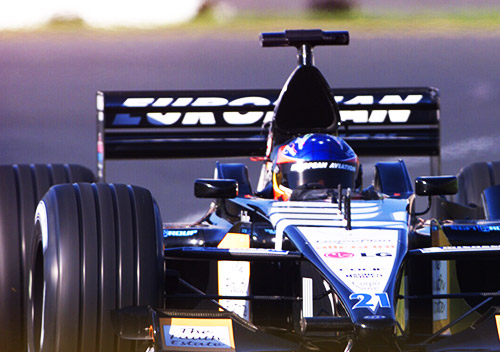 Alonso en el Minardi. Foto: fernandoalonso.com