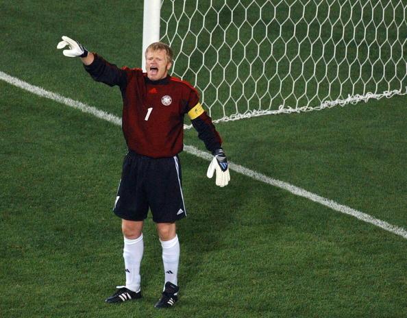 Kahn era o grande destaque alemão (Foto: Pascal Guyot/AFP)