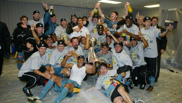 Celebración MLS Cup 2002 (lagalaxy.com)