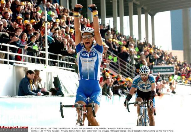 Parigi-Roubaix: Greg Van Avermaet vince allo sprint su Zdenek Stybar