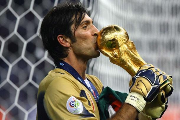 Buffon was part of the 2006 World Cup winning side | photo: forzaitalianfootball.com