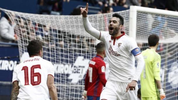 La doppietta di Iborra lancia il Siviglia che batte 3-4 l'Osasuna (Fonte foto: Yahoo Sport)