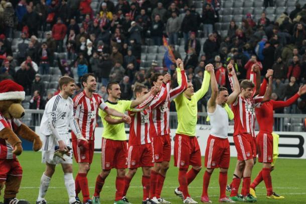 Bayern de Munique na temporada de 2010 (Foto: Divulgação/Bayern de Munique)