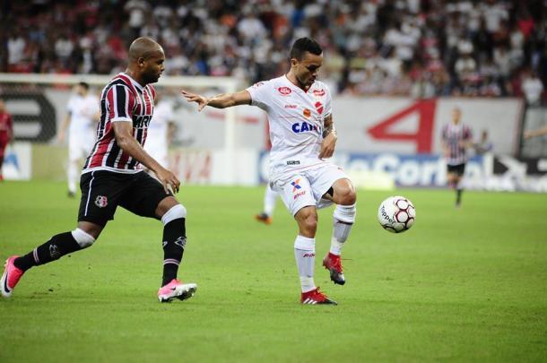 Mais Querido mostra eficiência nas finalizações e sai vitorioso contra o Tigre (Foto: Genival Fernandes/Especial à VAVEL Brasil)