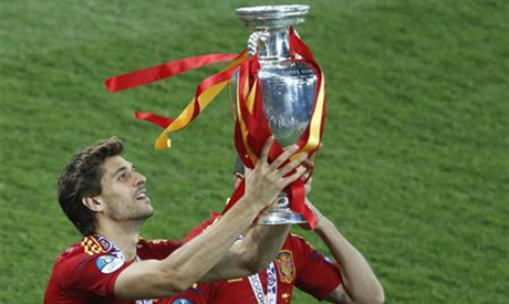 Llorente won Euro 2012 with Spain, two years after clinching the World Cup title with them. (Photo: Reuters)