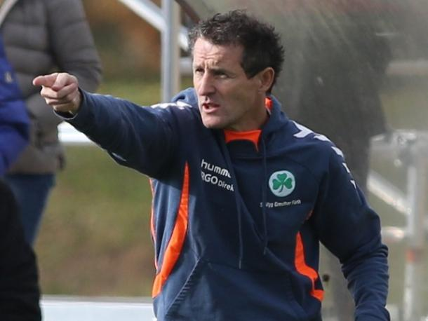 Janos Radoki has a 39% win record for the under-19 side.   Photo: SpVgg Greuther Fürth