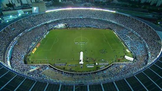 Estadio Presidente Perón donde se jugará el Racing - Boca
