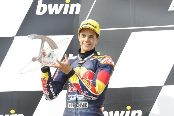 Podio 2015, Rookies Cup. Foto: Red Bull Rookies Cup