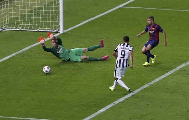 Il gol di Morata