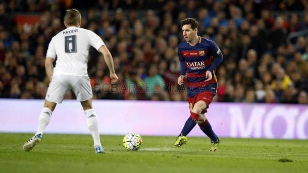 Messi brilhou desde cedo // Foto: fcbarcelona.com
