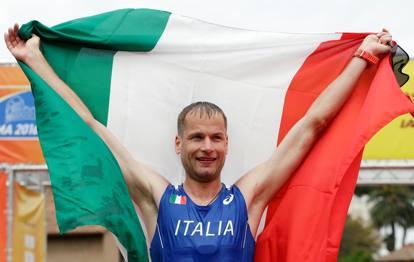 Alex Schwazer oro nella Coppa del mondo di Roma