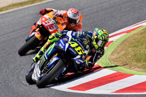 Great battle on track between Rossi and Marquez - www.auto.ndtv.com