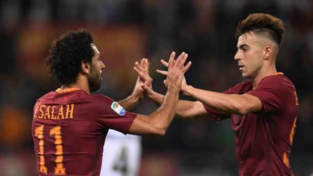 Salah ed El Shaarawy, protagonisti nella Roma di Spalletti. Fonte foto: lastampa