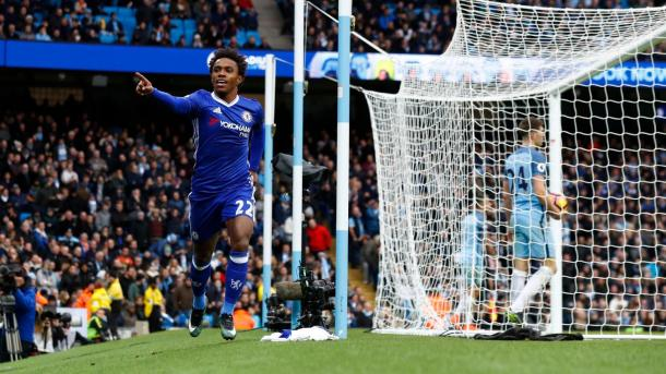 Willian in goal | Foto: @premierleague