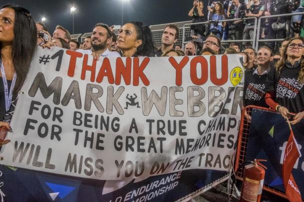 Mark Webber também vai deixar saudades. (Foto: AdrenalMedia)
