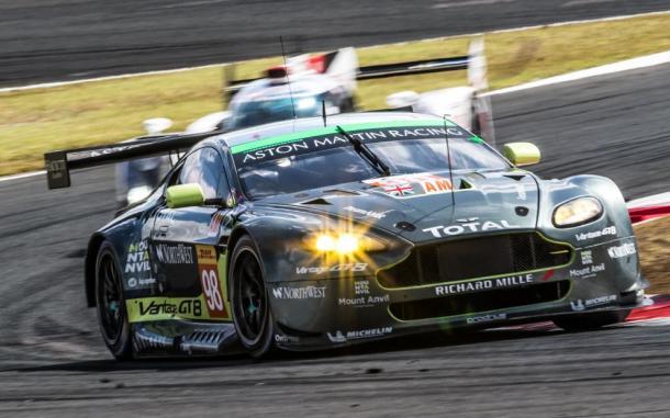Aston Martin vence na classe GTE-AM. (Foto: AdrenalMedia)