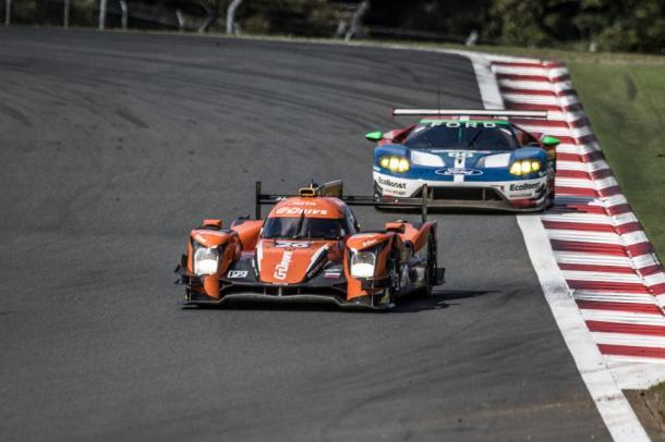 Primeira vitória da G-Drive na classe LMP2 na temporada. (Foto: AdrenalMedia)