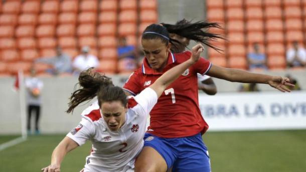 The two nations did not give up an inch freely in this physical semifinal on Friday at BBVA Compass Stadium. Photo provided by David J. Phillip- Associated Press Photo.