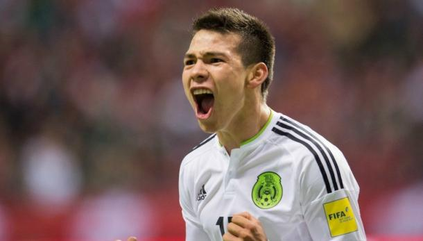 Will Hirving Lozano have a breakout game against Jamaica on Thursday at the Rose Bowl? Photo provided by MEXSPORT.
