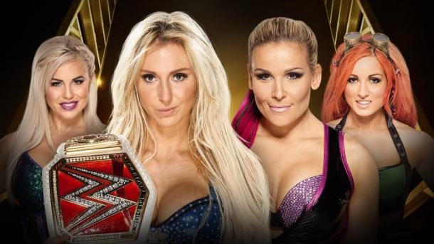 The Women's title is not on the line. Photo- WWE.com