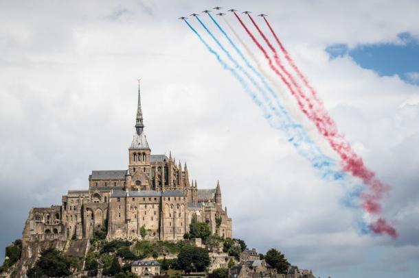 Mont Sant Michel fue el punto de partida | Foto: ASO