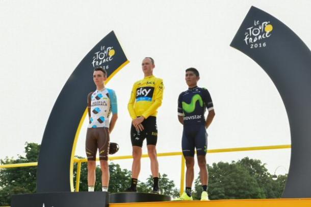 Podium de la edición pasada | Foto: Tour de Francia