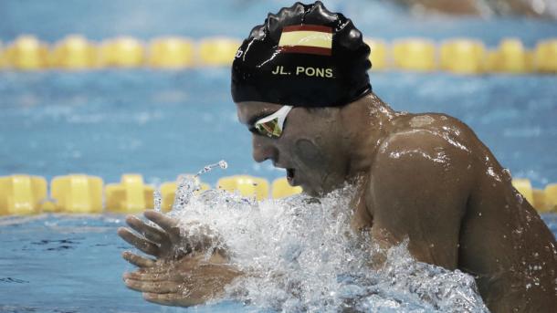 Joan Lluís Pons durante los pasados JJOO de Río de Janeiro. / Foto: EFE